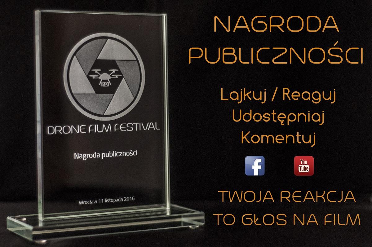 Drone Film Festival Wrocław 2016 - nagroda publiczności