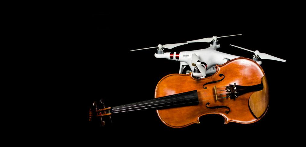 Muzyka i dron na Drone Film Festival Wrocław 2017
