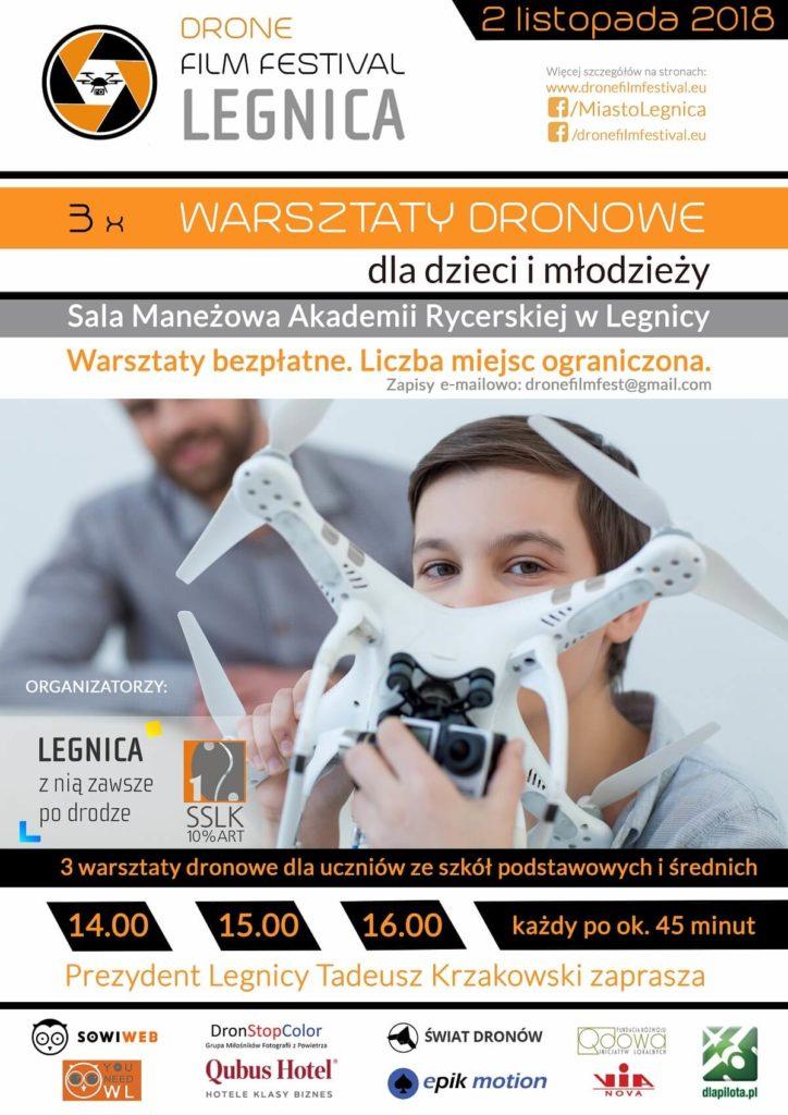warsztaty dronowe dla dzieci