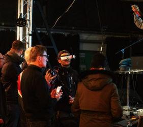 Drone Film Festival Poland 2019_pokaz lotów dronem FPV